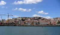 Alfama from the Tagus
