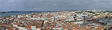 Panorama of Lisbon from the Castelo São Jorge
