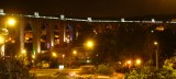 The Aqueducto das Aguas Livres, by night
