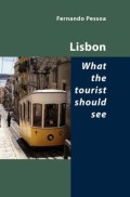 Cover of Lisbon, what the tourist should see, by Fernando Pessoa, Editions Shearsman